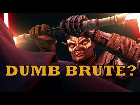 Savage Opress: Dumb brute or skilled Jedi killer?