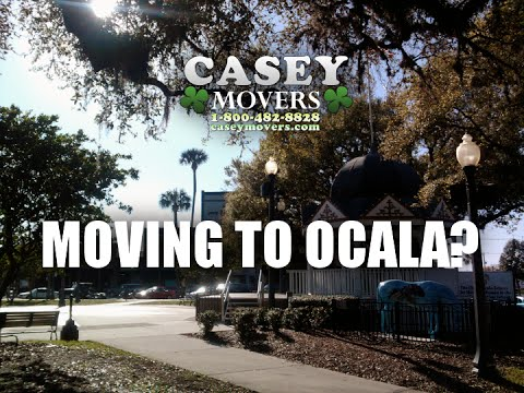 Boston, MA to Ocala, FL Movers | Casey Movers | Long Distance Movers | 1-800-482-8828