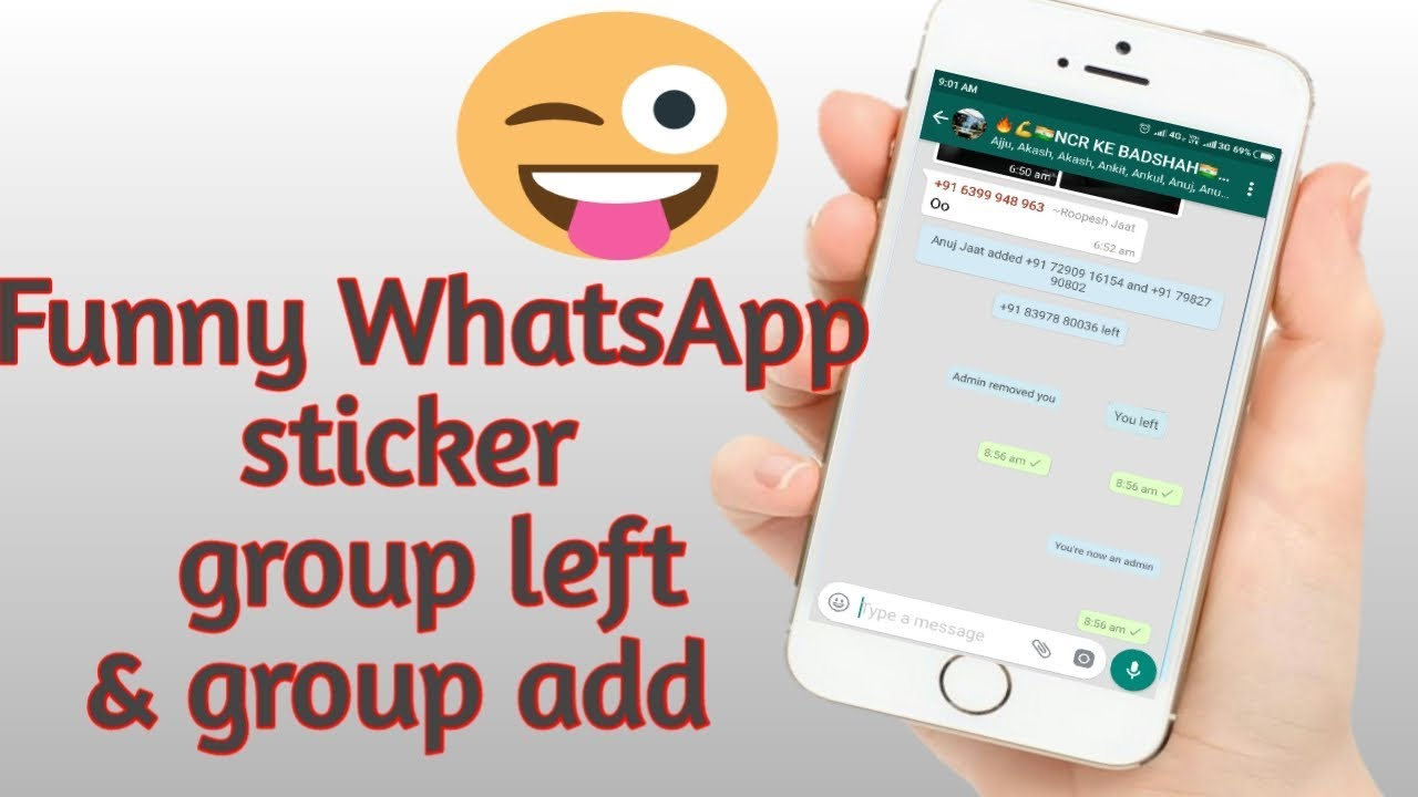You left admin removed you stickers funny whatsapp stickers