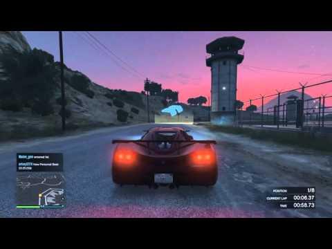 Grand Theft Auto V Criminal Records Race!