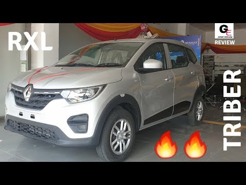Renault Triber RXL   2019 Renault Triber   detailed review   features   specs   price !!