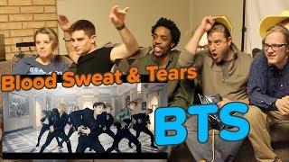 BTS (방탄소년단) 피 땀 눈물 (Blood Sweat  Tears) Official MV - REACTION