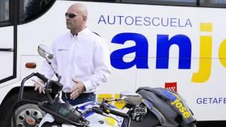 Autoescuela San Jose explica el examen de circulacion del permiso de moto.