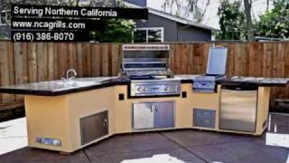 Ncagrills.com , Bbq Islands,  Outdoor Kitchens El Dorado Hills, Visalia, Vacaville, Fairfield, Ca