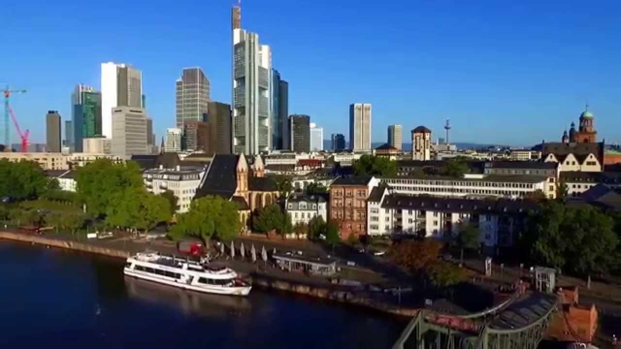 Frankfurt am Main von oben - YouTube