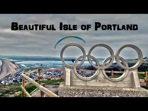 Paragliding: Beautiful Isle of Portland