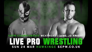 SEPW Wrestling 2019 | Meathead vs. JD Knight | (24/03/2019)