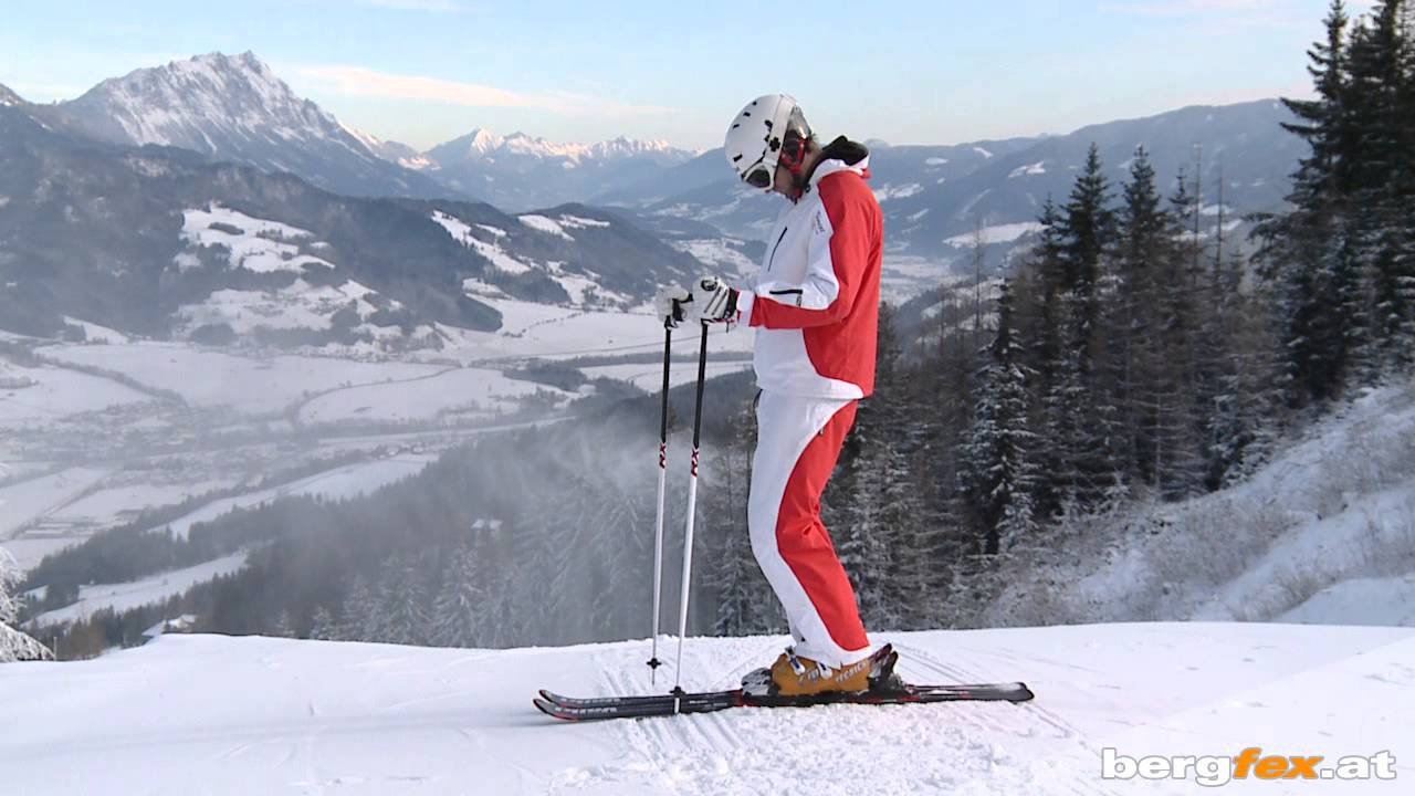 Learning to ski: Basics 1 | Equipment | English