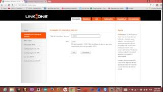 Configurar roteador link one pela wifi