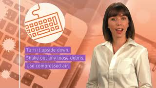 How to Sanitize Your Workspace - Coronavirus Prevention Tip