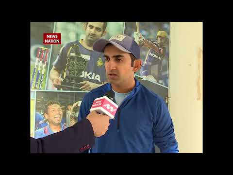 Exclusive: Gautam Gambhir talks about his performance and Mahendra Singh Dhoni