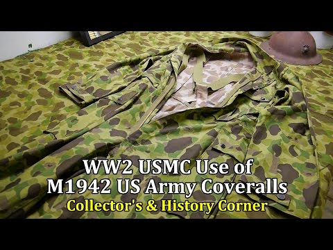 World War 2: USMC use of US Army M1942 Coveralls | Collector's & History Corner