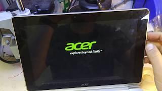 Acer Aspire Switch 10 (SW5-012) Не работает клавиатура; Keyboard not work; (2 часть)