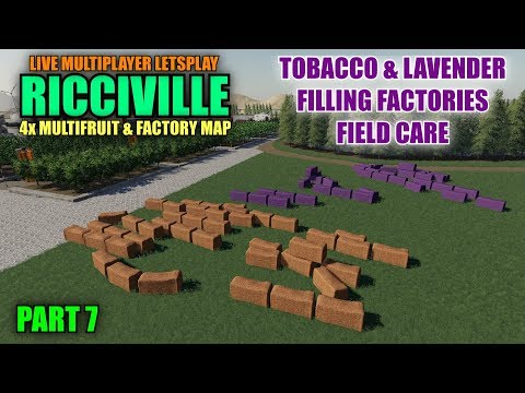Ricciville 4x Multifruit & Factory Map Multiplayer Letsplay Part 7