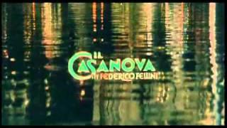 """Трейлер к фильму """"Казанова"""" Федерико Феллини  1976"""