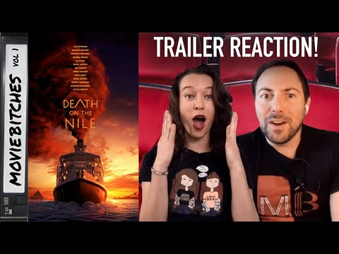 Death on the Nile | Trailer Reaction | MovieBitches