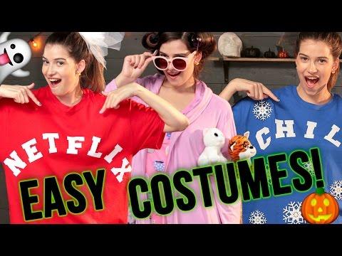 DIY LAST MINUTE HALLOWEEN COSTUME IDEAS | Spooktacular w/ Marissa Rachel