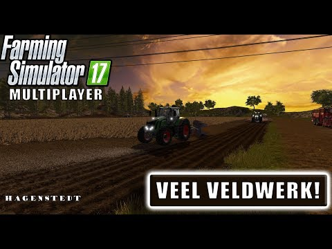 """""""VEEL VELDWERK!"""" FarmingSimulator 17 Multiplayer Hagenstedt"""