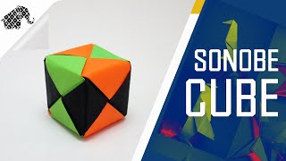Origami - How To Make An Origami Modular Sonobe Cube