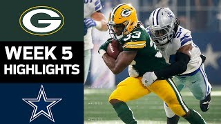 Packers vs. Cowboys | NFL Week 5 Game Highlights thumbnail