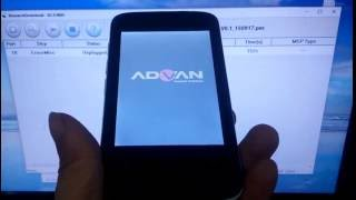 Cara Flash Advan S3D Dengan ResearchDownload.