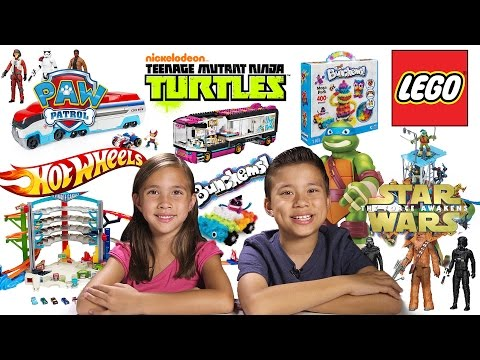 MEGA TOY REVIEW & UNBOXING! LEGO, Hot Wheels, TMNT, Star Wars, Paw Patrol, and more!