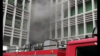 Massive blaze at Delhi's AIIMS spreads further, NDRF teams called in