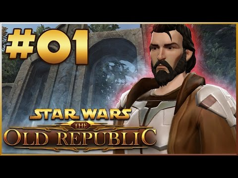 Star Wars: The Old Republic 1-60 Walkthrough | Jedi Knight | Part 1