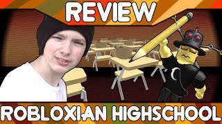Robloxian Highschool [ROBLOX Game Review]