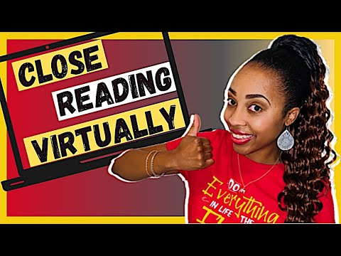 5 DAY PROCESS Of HOW TO TEACH CLOSE READING VIRTUALLY ONLINE In REMOTE LEARNING With READING A-Z