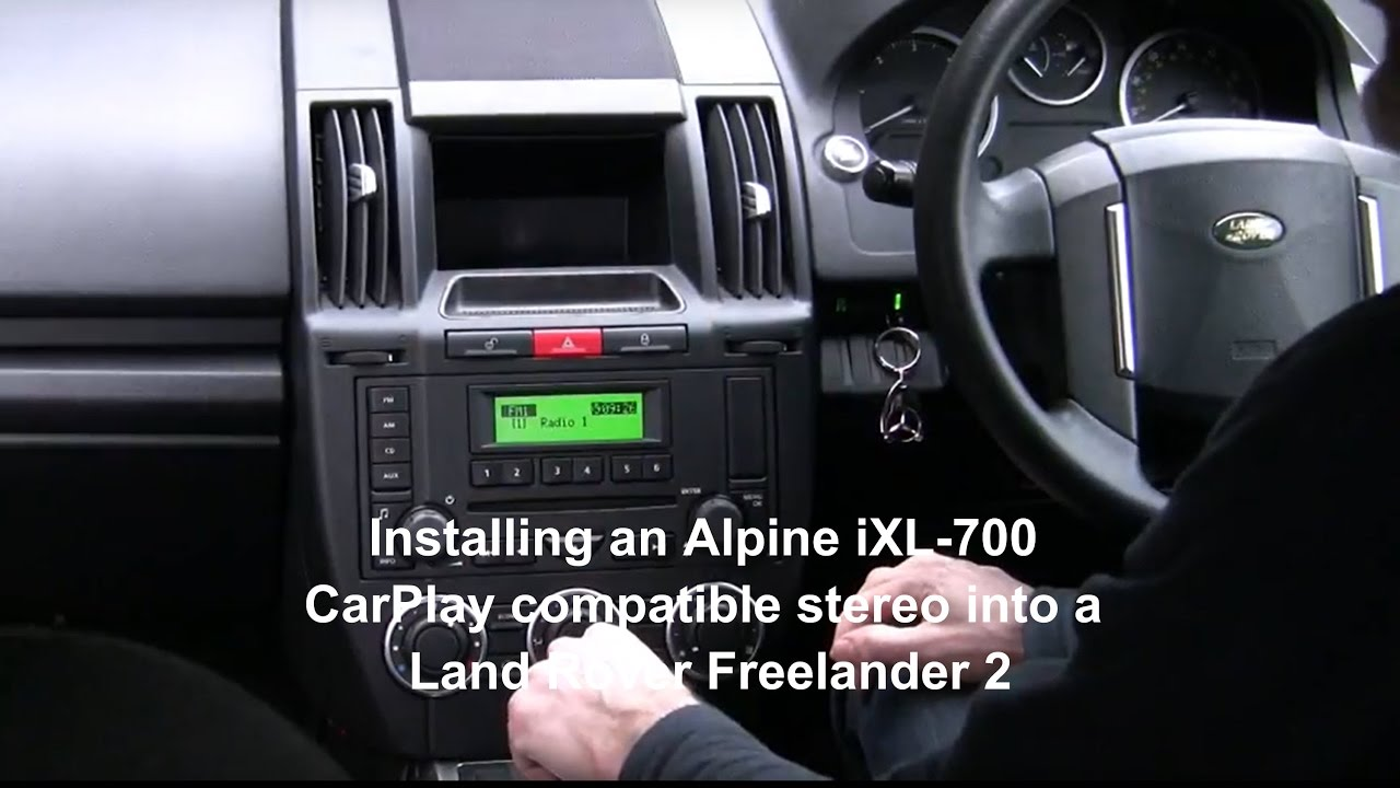 Alpine Ilx 700 Ilx 007 Apple Carplay Stereo Installed In
