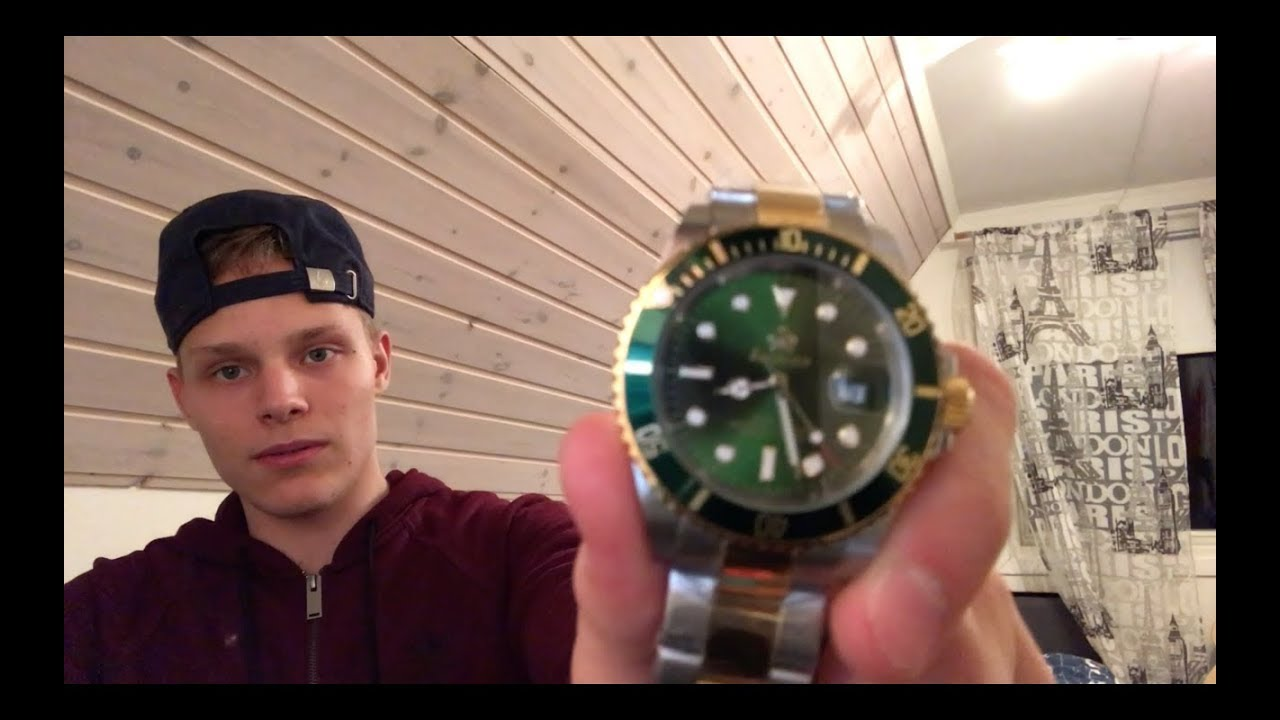 Buying From Wish A Fake Rolex 8 Unboxing Youtube
