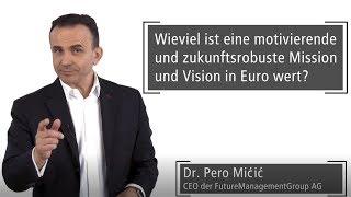 Wieviel ist eine gute Vision in Euro wert? Fallstudie TESLA   Dr. Pero Mićić