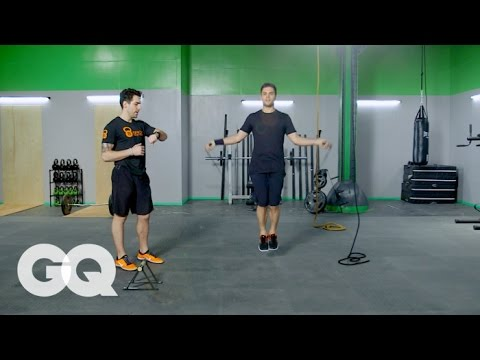 TABATA: 4-Minute Endurance Workout – GQ's Fighting Weight Series