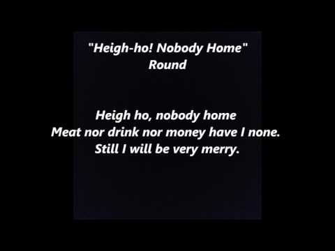Heigh-ho! Nobody Home words lyrics best top popular favorite trending sing along song songs