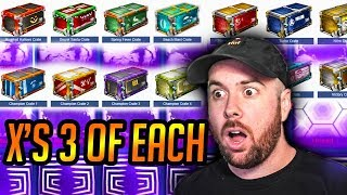 Opening 3 of EVERY CRATE EVER in ROCKET LEAGUE!