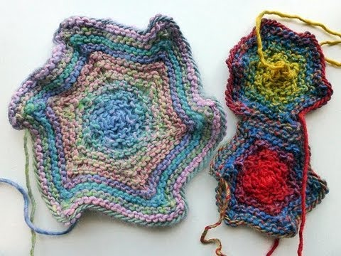 Adventskalender 4 Dezember 2012 Stricken Hexagon Stern Youtube