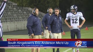South Kingstown Head Coach Eric Anderson Mic