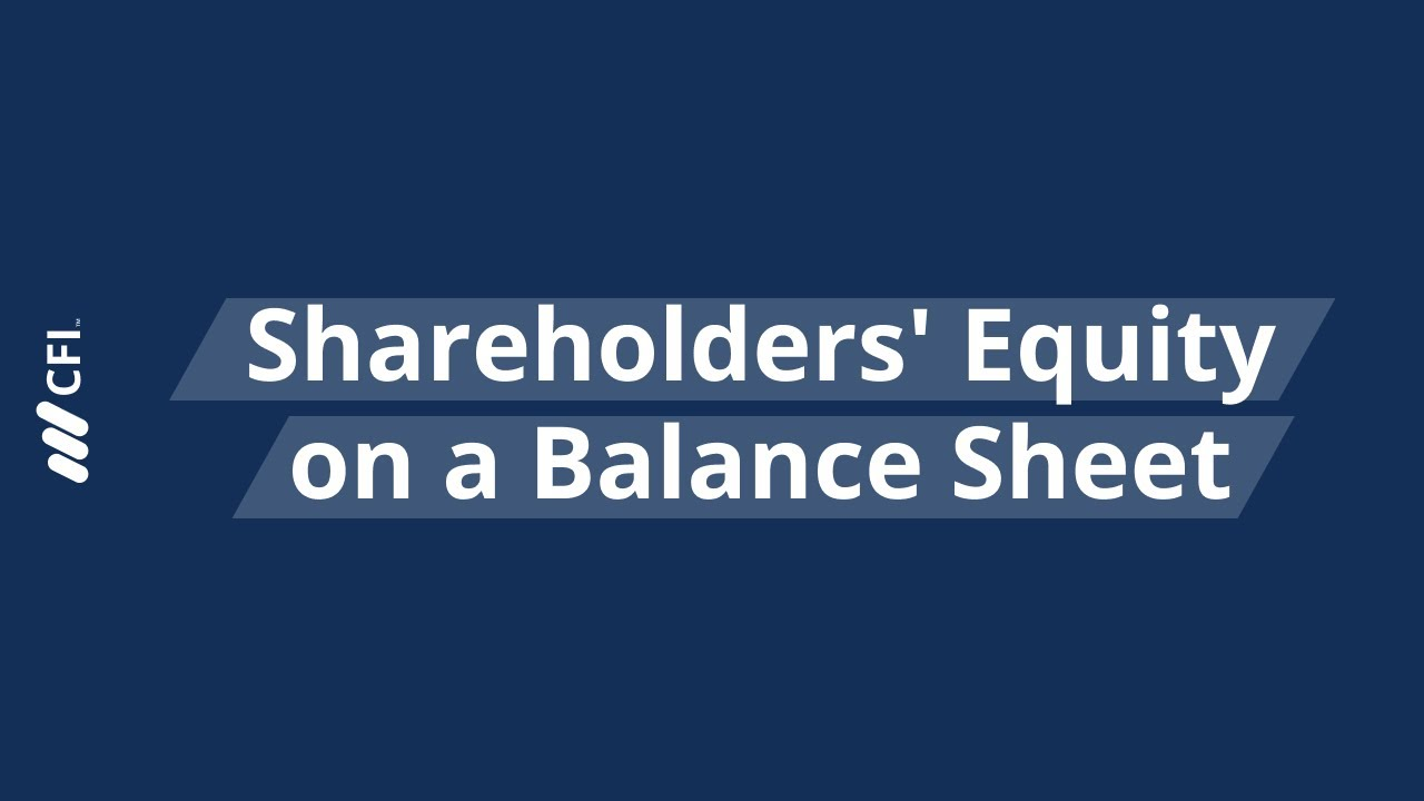 Types of Equity Accounts - List and Examples of the 7 Main