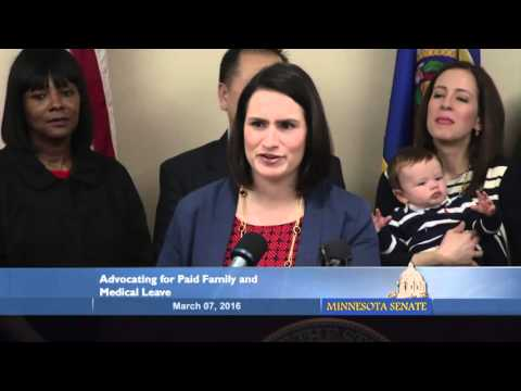 DFL Paid Family Leave Proposal - Full News Conference