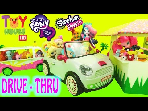 SHOPPIES visit RAINBOW DRIVE-THRU Part 1