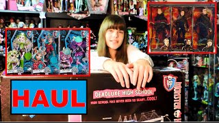 Dolls Haul - Monster High Brand-Boo Students & Barbie Collector Mockingjay Dolls thumbnail