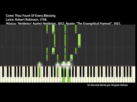 Come Thou Fount Of Every Blessing LDS Piano Tutorial