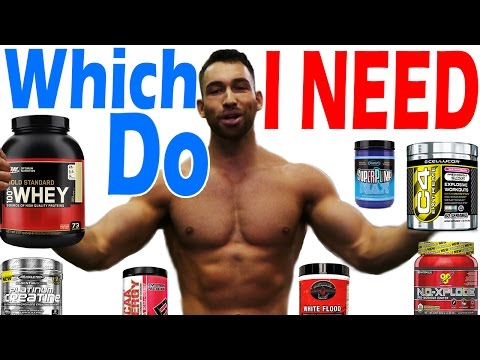 Which Supplements do I NEED to Take to Gain Muscle and Lose Fat ➟Should I take Pre Workout Best 2017