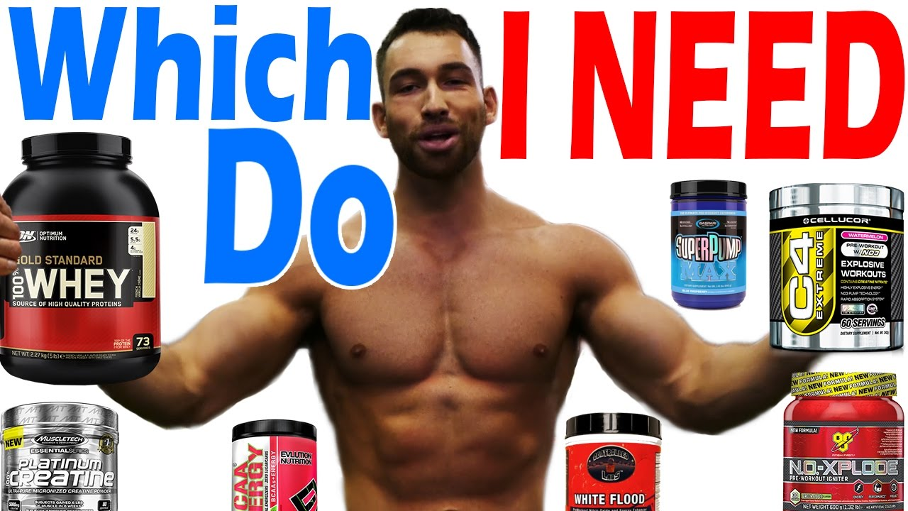 which supplements do i need to take to gain muscle and lose fat