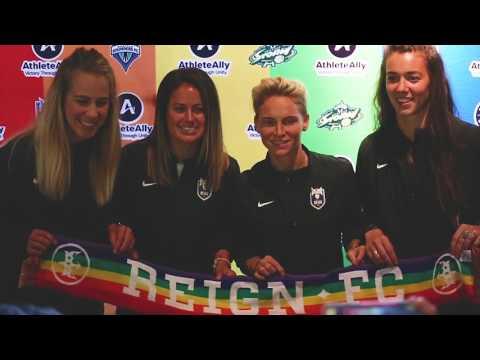 Athlete Ally Ambassadors // Seattle Reign FC