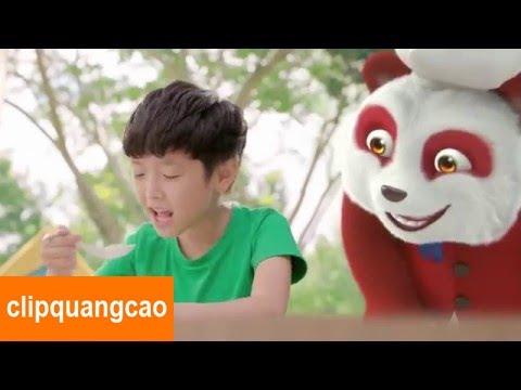 Quảng cáo cháo Gấu Đỏ cho bé ăn ngon hơn, nhanh hơn mới nhất 2016 [FULL]