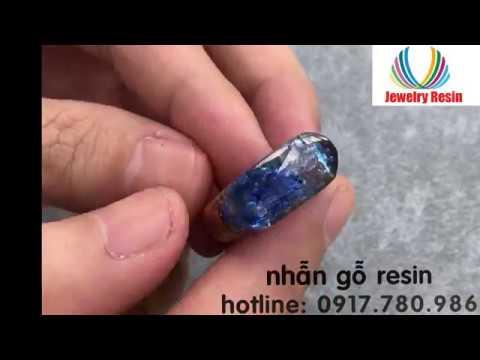 Nhẫn gỗ Resin, Khuôn silicon, nữ trang Resin, trang sức Resin, Resin