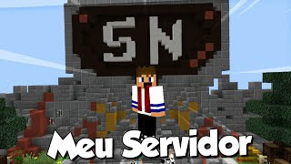 Meu Servidor de SkyWars 1vs1 Minecraft PE 15.10