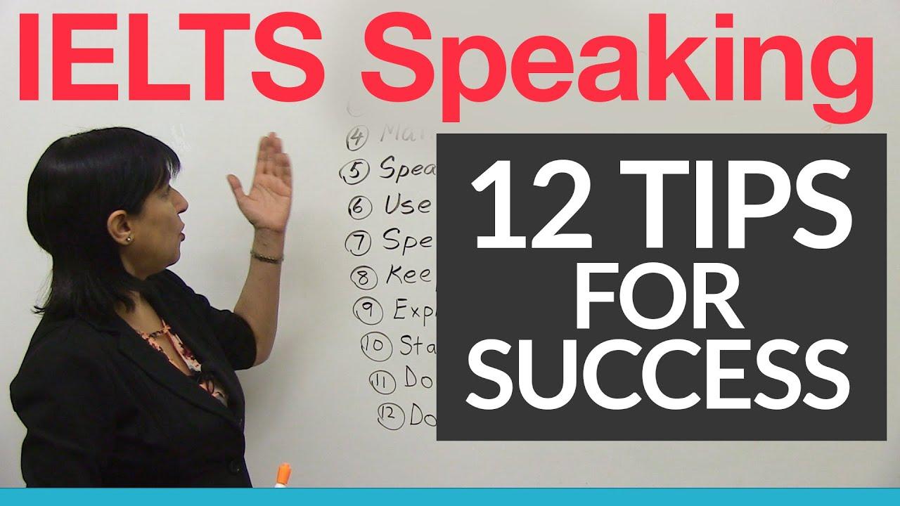 12 IELTS Speaking Tips